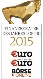 Finanzberaterdes Jahres 2015 TOP 100