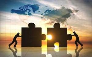 weltweite Zusammenarbeit
