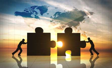 Dimensional - weltweite Zusammenarbeit Honnorarberatung